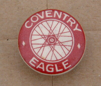 Coventry Eagle Motorcycle Button Lapel Badge
