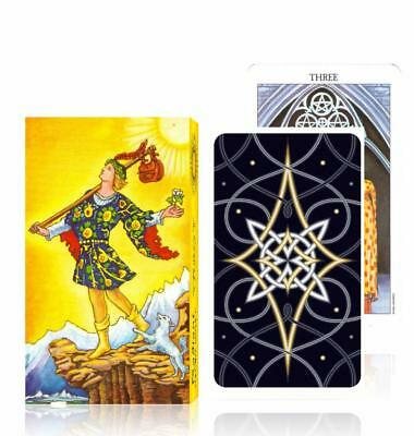 Rider Waite Tarot Deck English Original Version Classic 78pcs Card Set