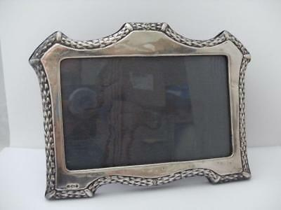 FINE 999 SILVER HALLMARKED PHOTO FRAME London 1989