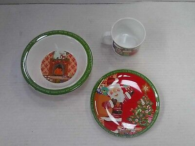 Churchill Little Rhymes - Twas The Night Before Christmas Melamine Set