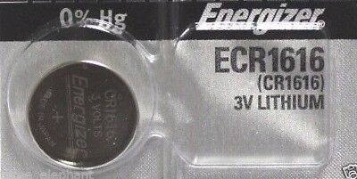 1 New ENERGIZER CR1616 Lithium 3v Coin Battery Australia Stock FAST SHIPPING