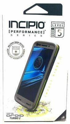 the best attitude 93cdf d56ee INCIPIO PERFORMANCE LEVEL 5 Rugged Phone Cover Case for Motorola Droid  Turbo 2