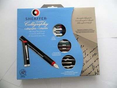 Sheaffer Classic Calligraphy Fountain Pen Set