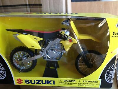 Suzuki Rmz 450 2014 Toy Model Diecast 1:12 Scale Christmas Gift Idea