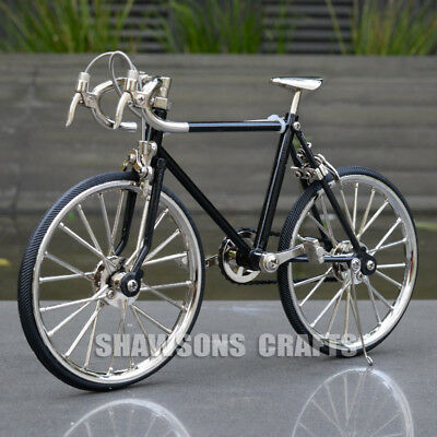Diecast Metal Bicycle Model Collections 1:10 Racing Bike Replica Toy
