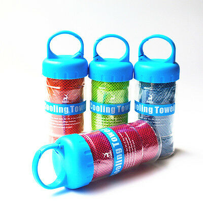 1 X Sports Running Goods Absorb Bottle Gym Cool Towel Cooling Towel Drying Sweat
