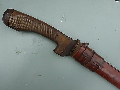 Interesting Variant WW1 British P08 Cavalry Troopers sword -2nd D - Scots Greys