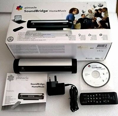 Pinnacle/Roku Soundbridge M400PX Boxed & In Very Good Working Condition