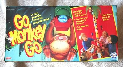 Vintage GO MONKEY GO game (GALOOB, 1989). VERY RARE! BRAND NEW IN BOX, OLD STOCK