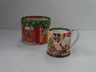 Churchill Little Rhymes - Twas The Night Before Christmas Mug In Hat Box