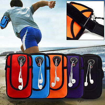 Running Jogging Gym Armband Arm Band Waterproof Holder Bag For Mobile Phones