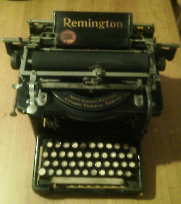 REMINGTON STANDARD  n°7 - OLD Typewriters 1897