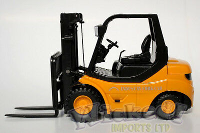 Desktop Radio Controlled RC Remote Control Forklift Heavy Duty Metal Toy Gift