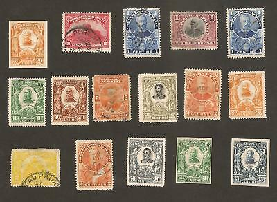 Haiti Stamps Old Lot