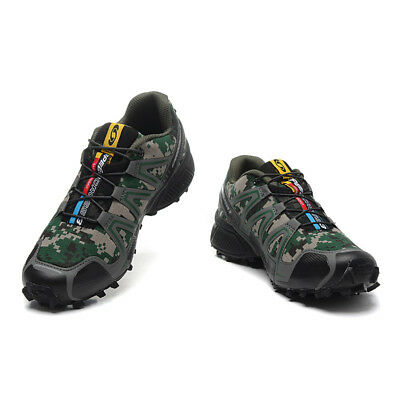 Men's Hiking Shoes  Salomon Speedcross 3 Athletic Running Sports Outdoor DianSen