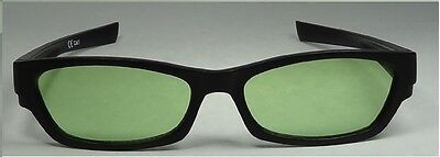 Happyeye Tinted glasses visual stress dyslexia overlays green adult coloured