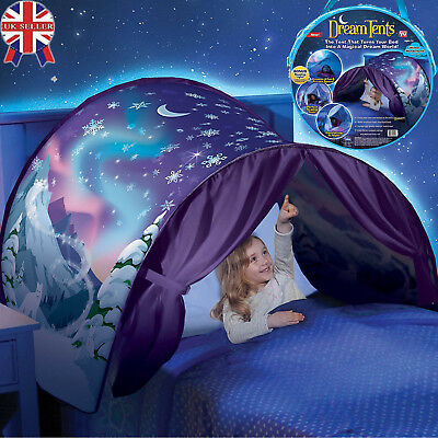 UK STOCK Dream Tents Space Adventure Foldable Tents Camping Bed Tent Kids Tents