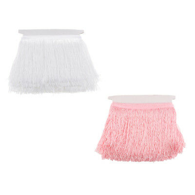 10 Meters Tassels Dance Dress Costumes Satin Ribbon Trimming Fringe