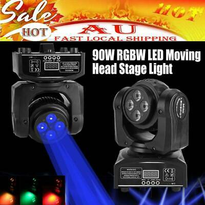 90W RGBW Cree LED Double Face Beam Stage Lighting Moving Head DMX512 Spot Light