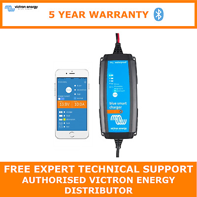 Victron Blue Smart IP65 Trickle Charger For Car & Leisure Batteries 12V 4A