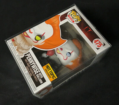 New IT Pennywise With Balloon Funko Pop Exclusive Bobblehead Figure + protector