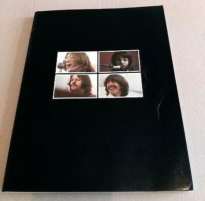 BEATLES GET BACK BOOK (Full Gloss) THE LET IT BE ALBUM BOX SET & VERY RARE ***