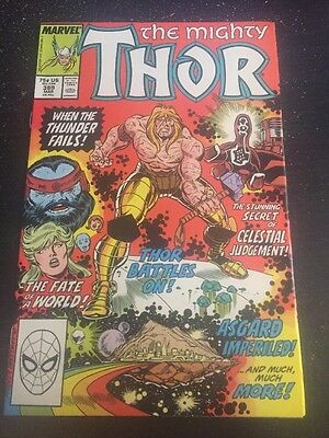 Mighty Thor#389 Incredible Condition 9.2(1988) Frenz Art, Celestials!!
