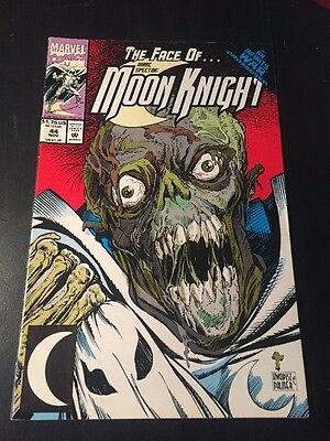 "Marc Spector:Moon Knight#44 Incredible Condition 8.5(1992)""Infinity War"""