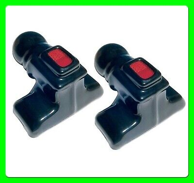 * Pack of 2 * Full Tow Ball Boot cover With Reflector [MP139] Black