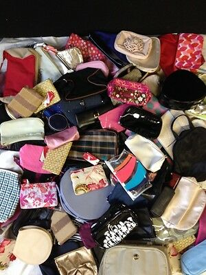Job Lot of 75 Used VGC Vanity/Toiletry/Makeup Bags + Cases