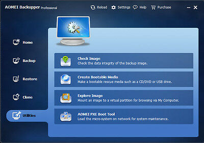 AOMEI Backupper Pro Latest Edition - Disk Backup - Restore - Clone - Image