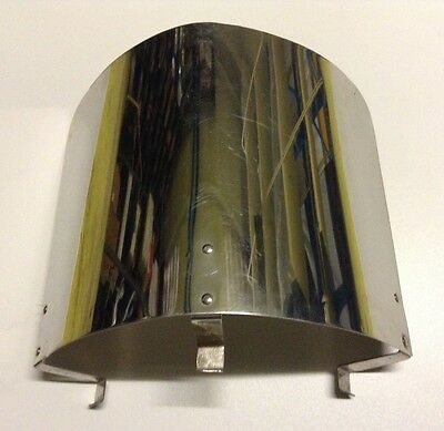 Large Metal Heatshield With Brackets Ready To Be Drilled