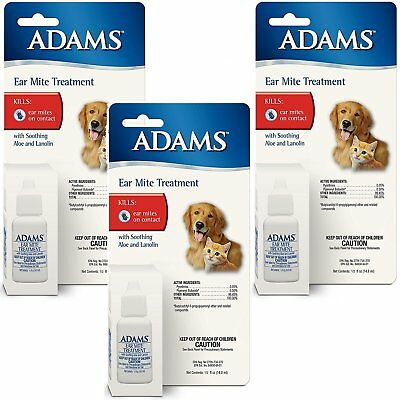 Adams Ear Mite Treatment Free Shipping
