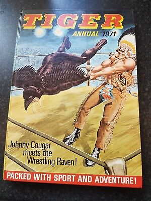 TIGER ANNUAL 1971 IPC MAGAZINES LTD. please read. birthday present gift