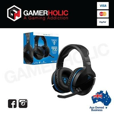 Turtle Beach Ear Force Stealth 700 Wireless Gaming Headset for PS4 Brand New