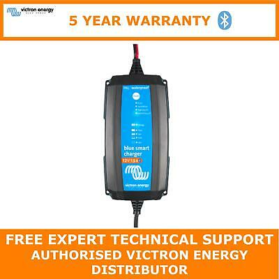 Victron Blue Smart IP65 Trickle Charger For Leisure & Boat Batteries 12V 15A