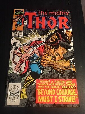 Mighty Thor#414 Incredible Condition 9.4(1990) Frenz Art,Ulik Battle,Hercules!!