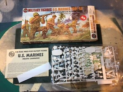AIRFIX - Vintage Multipose Marines 1/32 completo