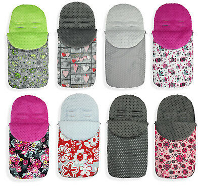 Baby Stroller cosytoes Liner Buggy Padded Luxury Footmuff Universal M