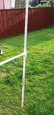 Scanner Broadsword Dpg dipole antenna with 5 metres of coax BNC