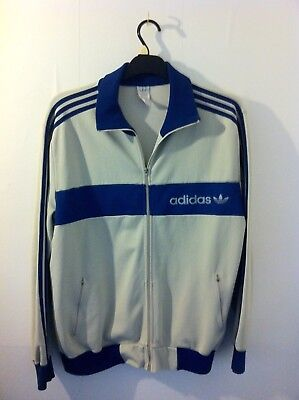 Vintage 1970s Adidas Tracksuit Top, Large / XL Great Condition.