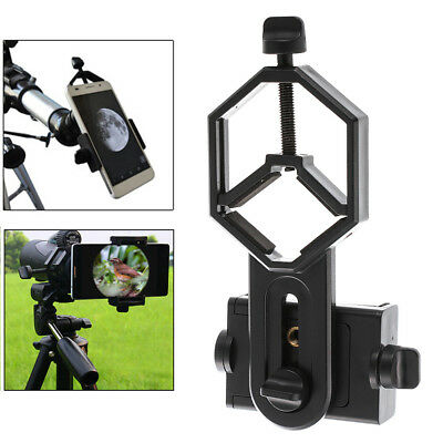 Cell Phone Adapter Holder Clamp Clip Mount for Microscope Binocular Telescope