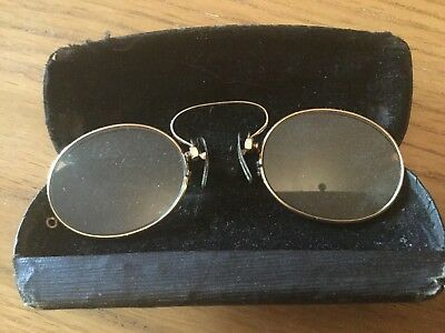 Antique Pinz Nez Gold Filled