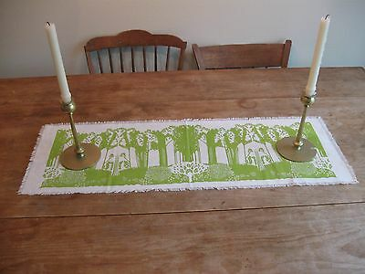 Folly Cove Designers Style Print Table Runner Produced atthe SarahElizabeth Shop