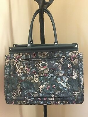 Tapestry Carpet Bag Mary Poppins Costume Purse Luggage