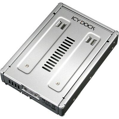 NEW Icy Dock MB982SP-1s Storage Enclosure Drive 2.5in 3.5in SATA HD & SSD Conver