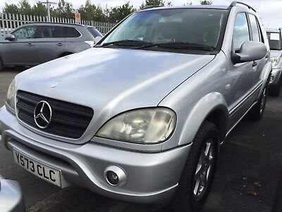 2001 Mercedes Ml270 Cdi Leather 7 Seats, Amg Bodykit, Fabulous Looking,7 Service