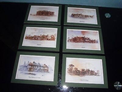 Famous Golf Course Mounted Prints