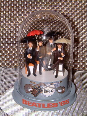 """The Beatles - Franklin Mint """"beatles '65"""" Ltd. Music Dome From 1997/8. Rare"""