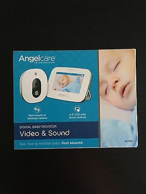 angelcare ac310  digital video and sound  baby monitor